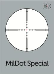 Meopta Ristikko MilDot Special